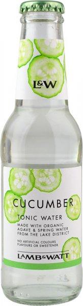 Lamb & Watt Cucumber Tonic Water 200ml NRB