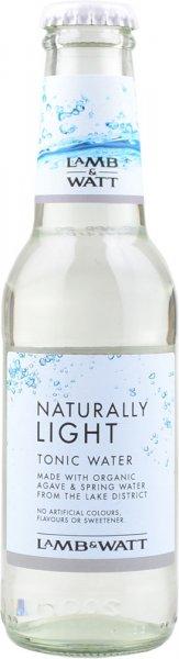 Lamb & Watt Naturally Light Tonic Water 200ml NRB