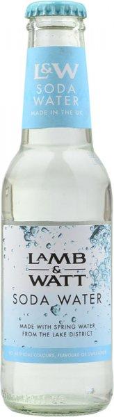 Lamb & Watt Soda Water 200ml NRB