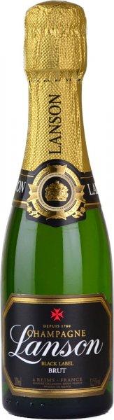 Lanson Black Label Brut NV Champagne 20cl