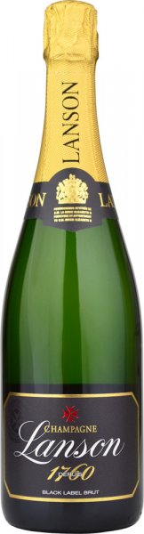 Lanson Black Label Brut NV Champagne 75cl