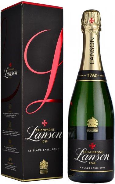 Lanson Black Label Brut NV Champagne 75cl in Branded Box