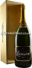 Lanson Black Label Brut NV Champagne Salmanazar (9 litre)