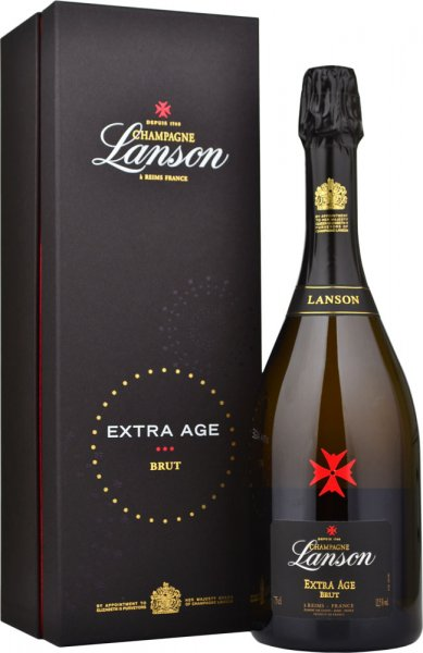 Lanson Extra Age Brut NV Champagne 75cl in Branded Box