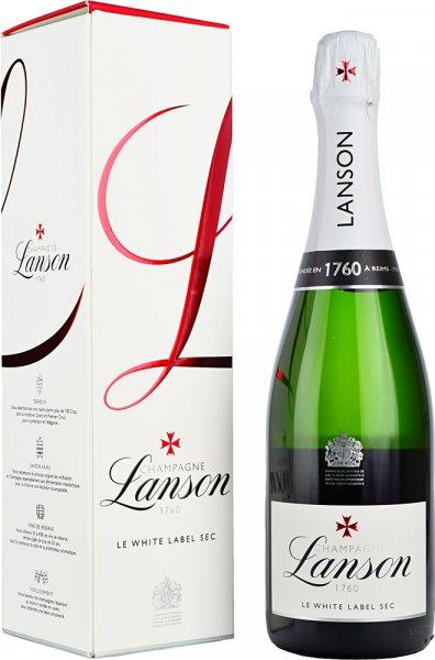 Lanson White Label Sec NV Champagne 75cl