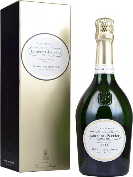 Laurent Perrier Blanc de Blancs Brut Nature NV Champagne 75cl in Box