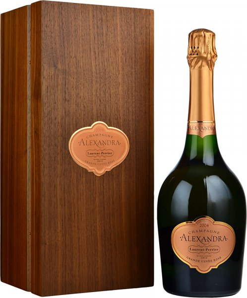 Laurent Perrier Grand Siecle Alexandra Rose 2004 Champagne 75cl