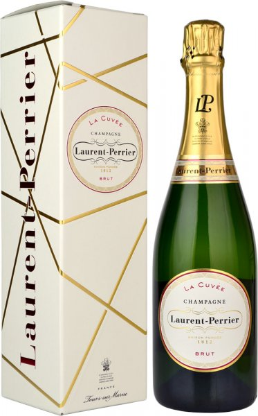 Laurent Perrier La Cuvee Brut NV Champagne 75cl in L-P Box