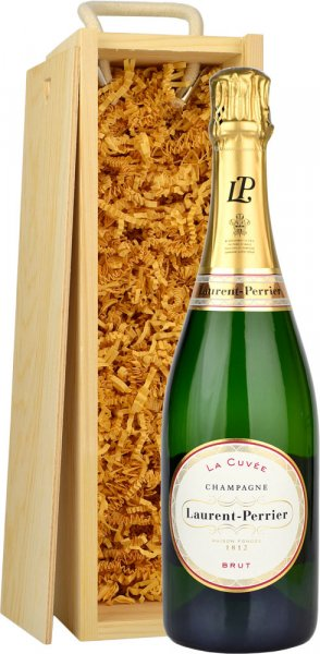 Laurent Perrier La Cuvee Brut NV Champagne 75cl in Wood Box (SL)