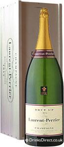Laurent Perrier La Cuvee Brut NV Champagne Balthazar (12 litre)