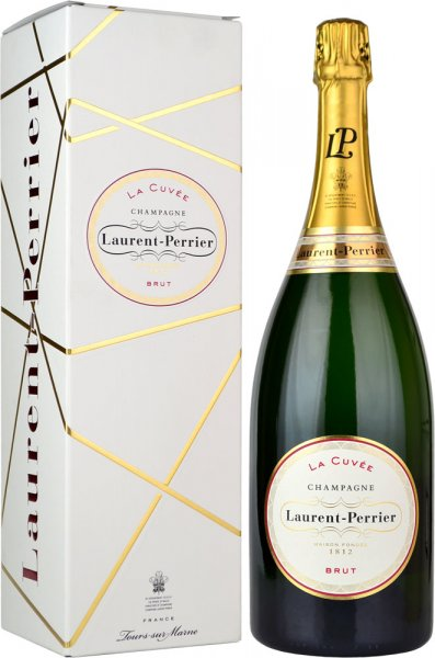 Laurent Perrier La Cuvee Brut NV Champagne Magnum (1.5 litre) in L-P Box
