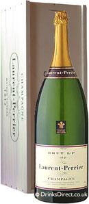 Laurent Perrier La Cuvee Brut NV Champagne Salmanazar (9 litre)