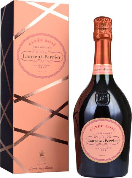 Laurent Perrier Rose Brut NV Champagne 75cl in L-P Rose Box