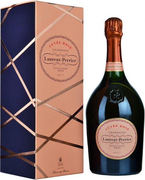Laurent Perrier Rose Brut NV Champagne Magnum (1.5 ltr) in L-P Rose Box