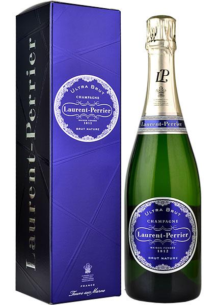 Laurent Perrier Ultra Brut NV Champagne 75cl in Branded Box