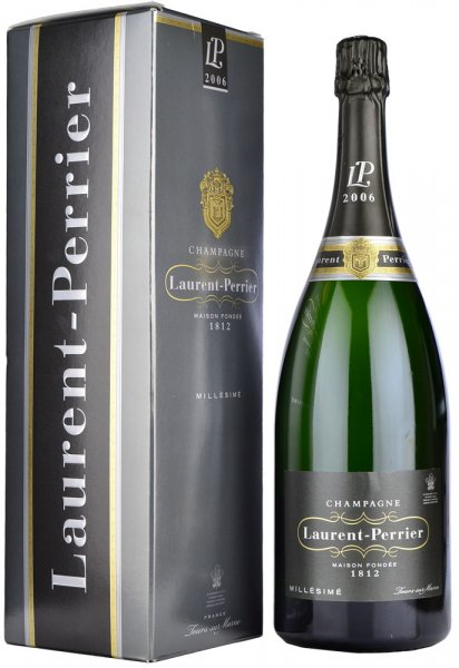 Laurent Perrier Vintage Brut 2006/2007 Champagne Magnum (1.5 litre) in Box