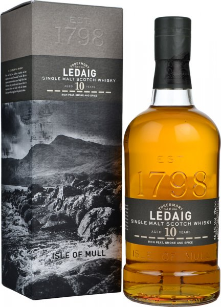 Ledaig 10 Year Old Single Malt Scotch Whisky 70cl