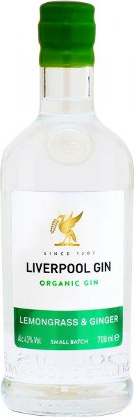 Liverpool Gin Lemongrass & Ginger 70cl