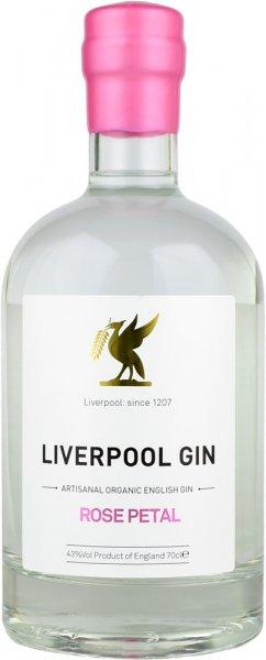 Liverpool Gin Rose Petal 70cl