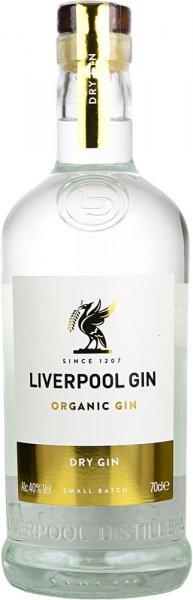 Liverpool Organic Gin Small Batch 70cl