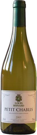 Louis Bonard Petit Chablis Blanc 75cl