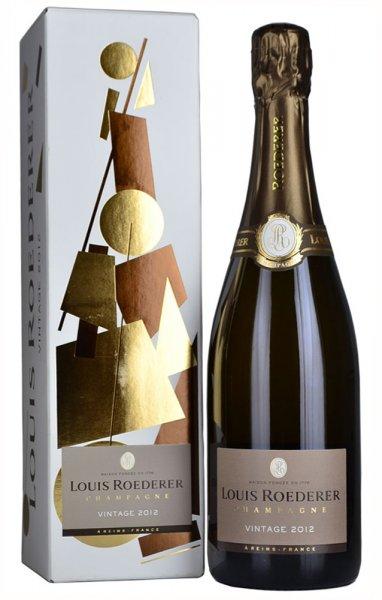 Louis Roederer Brut Vintage 2012 Champagne 75cl in Branded Box