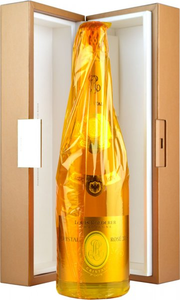 Louis Roederer Cristal Rose 2009 Champagne 75cl in Branded Box