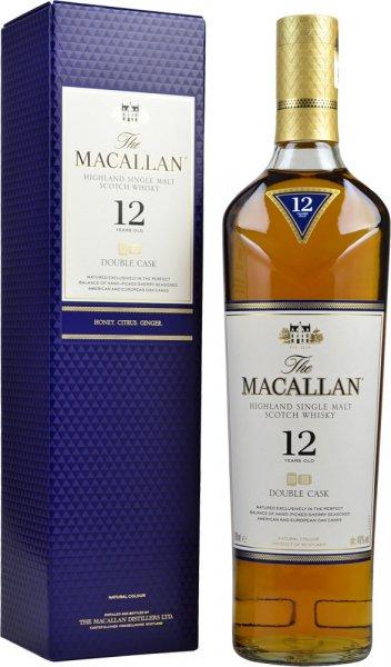 Macallan 12 Year Old Double Cask Single Malt Scotch Whisky 70cl