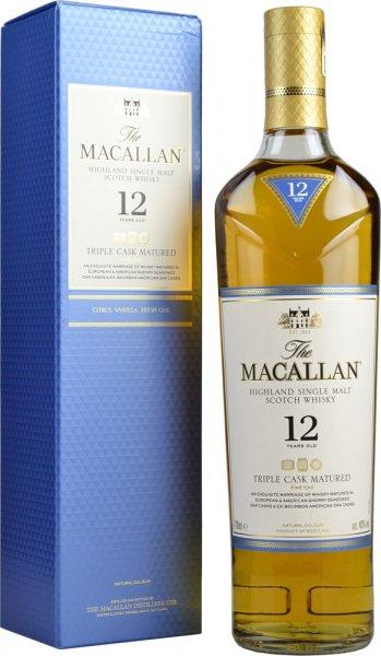 Macallan 12 Year Old Triple Cask Single Malt Scotch Whisky 70cl