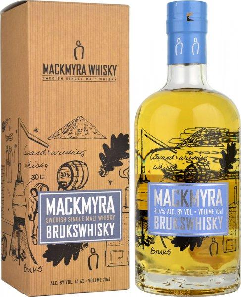 Mackmyra Brukswhisky Swedish Single Malt Whisky 70cl