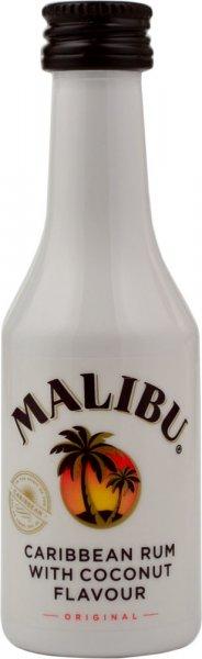Malibu White Rum Miniature 5cl
