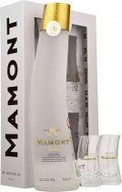 Mamont Siberian Vodka 70cl with Glasses Gift Pack