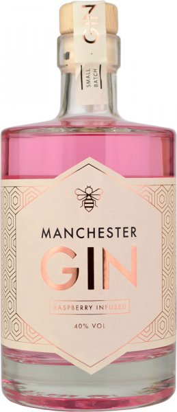 Manchester Gin - Pink Raspberry Infused 50cl