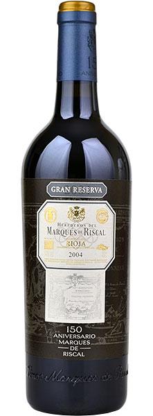 Marques De Riscal Rioja Gran Reserva 2010 75cl 150 Aniversario