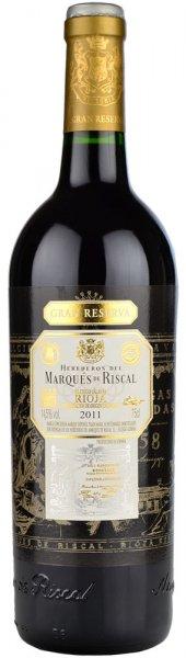 Marques De Riscal Rioja Gran Reserva 2011 75cl