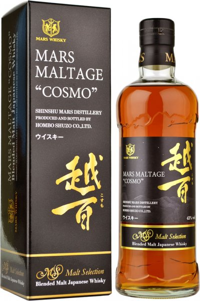 Mars Maltage Cosmo Blended Malt Japanese Whisky 70cl
