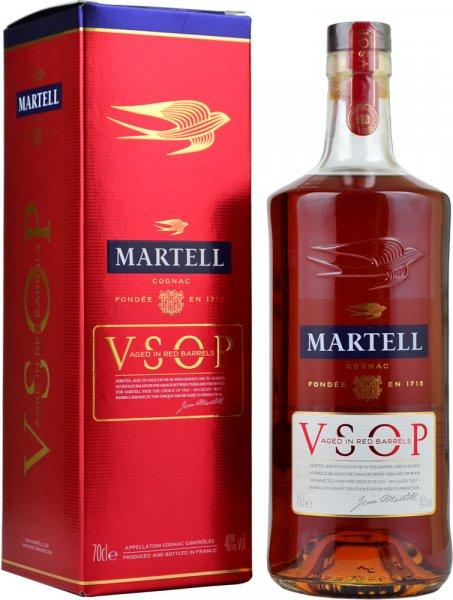Martell VSOP Aged in Red Barrels Cognac 70cl