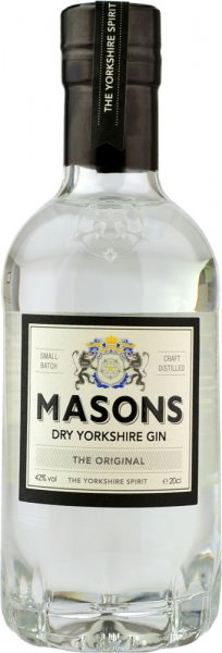 Masons Dry Yorkshire Gin 20cl