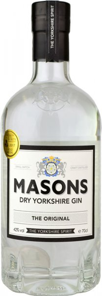 Masons Dry Yorkshire Gin 70cl