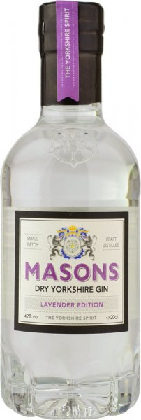 Masons Dry Yorkshire Gin - Lavender Edition 20cl