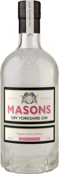 Masons Dry Yorkshire Gin - Peppered Pear Edition 70cl