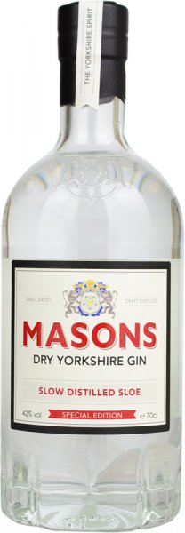 Masons Dry Yorkshire Sloe Gin - Slow Distilled 70cl