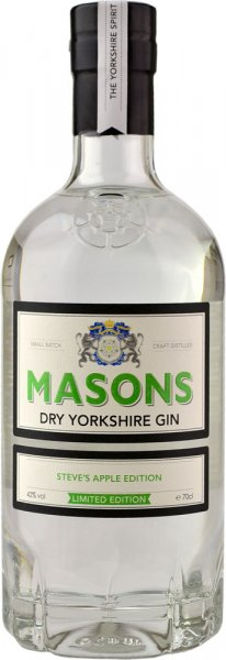 Masons Dry Yorkshire Gin - Steves Apple Edition 70cl