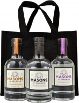 Masons Dry Yorkshire Gin Taster Pack 3 Bottle Gift Set (3x20cl)