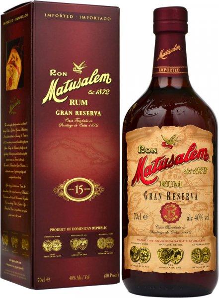 Matusalem Gran Reserva 15 Year Old Rum 70cl