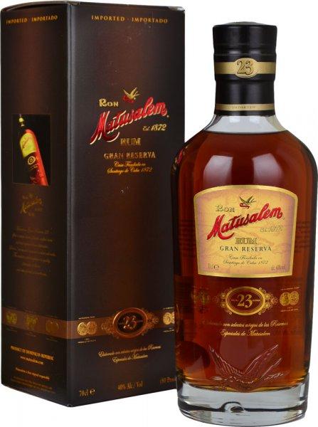 Matusalem Gran Reserva 23 Year Old Rum 70cl