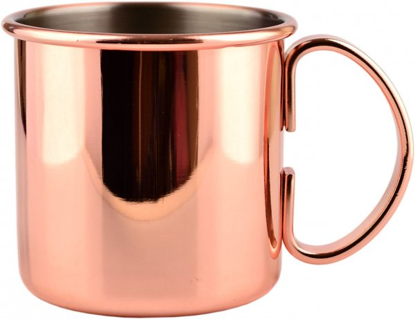 Mezclar Moscow Mule Mug Copper Plated (straight sided)