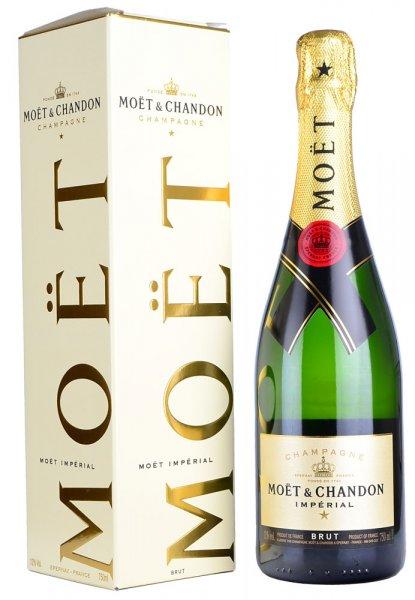 Moet & Chandon Brut NV Champagne 75cl in Moet Box