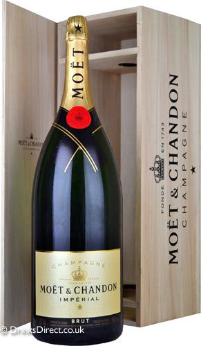 Moet & Chandon Brut NV Champagne Salmanazar (9 litre)