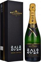Moet & Chandon Grand Vintage Brut 2012 Champagne 75cl in Moet Box